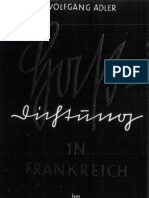 Adler, Wolfgang - Hassdichtung in Frankreich (1940, 51 S., Scan-Text)