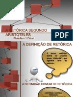 A RETÓRICA SEGUNDO ARISTÓTELES