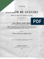 1860 Phillips Viage Al Desierto de Atacama