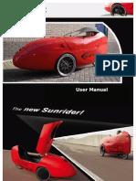 Sun Rider Users Manual