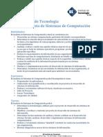 Plan de Estudios Analista de Sistemas
