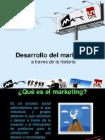 Historia Del Marketing a Traves Del Tiempo