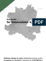 Altrichter, Anton - Der Volkstumskampf in Maehren (1940, 44 S., Scan, Fraktur)