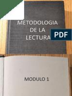 Metodologia de La Lectura Modulo 1