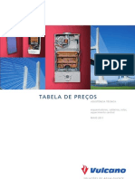 Vulcano- Tabela Preços de Peças Maio 2011 (pt)