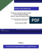 Tema 12 Exponenciales y Logaritmicas