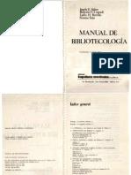 Sabor, Josefa y otros.[1951].Manual de bibliotecología.Kapelusz