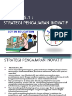 5.1 Strategi Pengajaran Inovatif