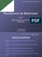 Resistencia de Materiales Tema 2