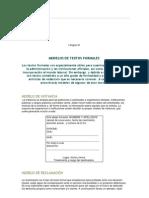 Com-modelos de Textos Formales