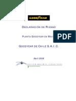 Anexo 10 E Declaracion de Riesgo Goodyear