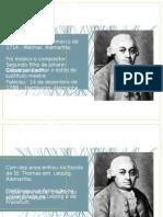 Trabalho Carl Philipp Emanuel Bach