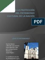 Ley para la protección del patrimonio cultural de