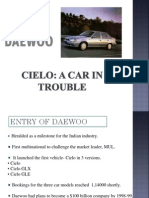Cielo- A Car in Trouble Case