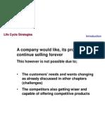 11 Life Cycle Strategies