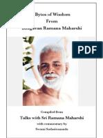 Bytes of Wisdom from Sri Ramana Maharshi