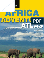 55353484 National Geographic Africa Adventure Atlas ISBN 9781597751469