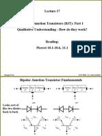 Lecture17-BJT QualitativeAndPerformParam