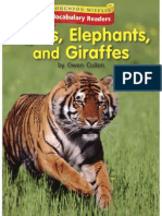 K.10.1 - Tigers, Elephants, And Giraffes