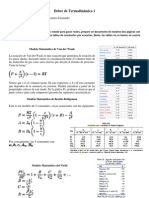 Ecuaciones Del Gas Ideal PDF