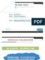 Green Fuel Tech Emulsion Fuel Ppt Read-Only