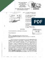 Denuncia Monti Napolitano - Avv Paola Musu