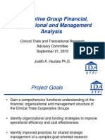 Clinical Trial Cost Analysis