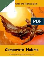 Corporate Hubris