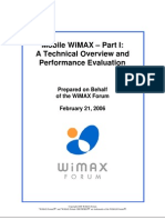 Mobile WiMAX- Part 1-Overview and Performance v2