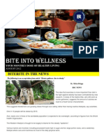 Bite Into Wellness- August 2012