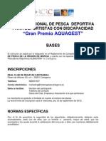 Rcrc - II Open Pesca Deportiva Para Personas Con Discapacidad 2012