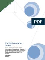 Physics Individual Study