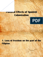 Political Effects of Spanish Colonization (REPORT) (1)