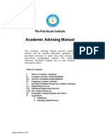 Academic Advising Manual