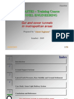 Tunnel Engineering Guidlines