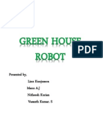Green House Robot Ppt