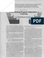 Monitoring Program Execution