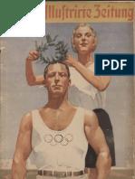 Berliner Illustrierte Zeitung - Die 16 Olympischen Tage (1936, 98 S., Scan, Fraktur)