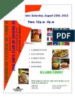 Caribbean Food Fair 2012 - Aug 25, 2012