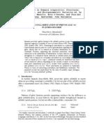 "Lishana.org - On the syllabification of Prevocalic ""w"" in Judeo-spanish - Travis g. Bradley"