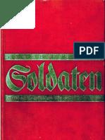 Blank, Herbert - Soldaten - Preussisches Fuehrertum Von Waterloo Bis Ypern (1932, 478 S., Scan, Fraktur)