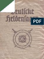 Blunck, Hans - Deutsche Heldensagen (1938, 430 S., Scan, Fraktur)