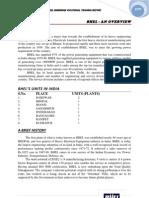 153534 221314 BHEL Haridwar Vocational Training Report