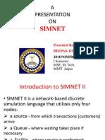 Simnet by Deepak Bherwa