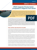 PPIAF Impact Stories Nigeria Port Reform
