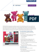 STAEDTLER Creative Tip FIMO Soft Kits for Kids Bears