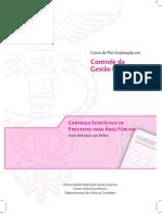 Controle Estatístico de Processos para Área Pública