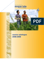 UMPI Course Catalogue 2008-2009