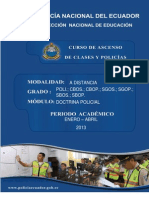 Modulo No. 1 Doctrina Policial -30!06!2012
