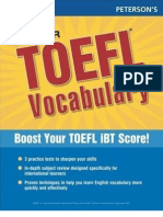 Peterson s Master TOEFL Vocabulary